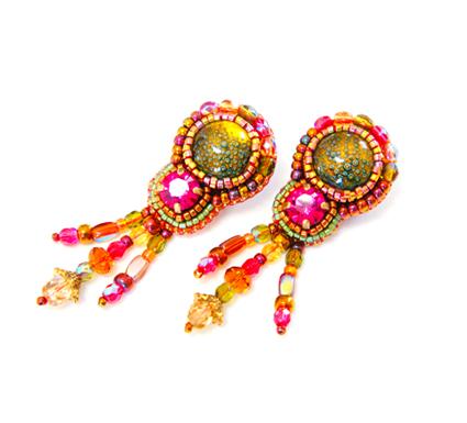 Boucles d'oreilles Byzance a