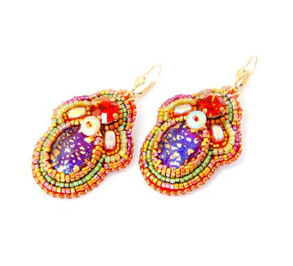 Boucles d'oreilles Byzance b